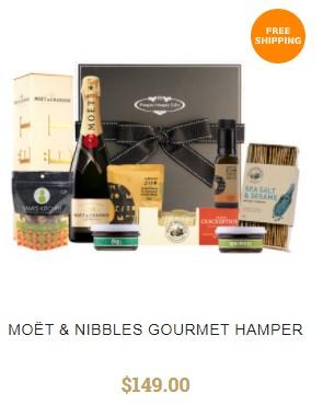 Christmas Bites Hamper By Pamper Hamper Gifts