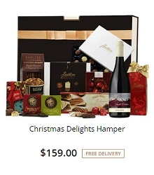 Christmas Delights Hamper By The Hamper Emporium